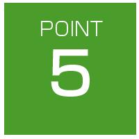 選ばれるポイント5
