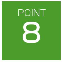 選ばれるポイント8